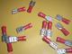 lattaliitin naaras - punainen 6.3mm ( 0.25 - 1mm² johdolle )