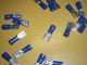 lattaliitin naaras - sininen 6.3mm ( 1.5 - 2.5mm² johdolle )