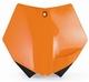 etu-numerokilpi KTM SX-mallit ´03-06 ( oranssi )