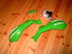 käsisuojat Polisport Sharp lite, vihreä