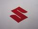 tarra Suzuki logo, punainen