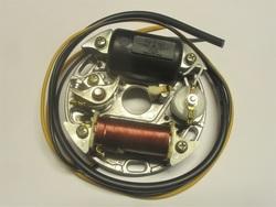 magneeton pohjalevy täydellinen - Bosch tyyppinen ( 6V 17W )