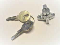 työkalukotelon lukko + avaimet - Jupiter 219