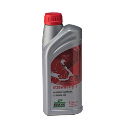 Rock Oil Strawberry 2 - 2-tahti öljy ( 1L )