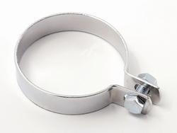 pakoputken kiinnitys klemmari - kromattu ( 55mm )