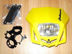 valomaski - Polisport LMX - keltainen