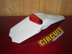 """takalokarin jatke Circuit """"Mantis"""" valkoinen - punainen lasi"""