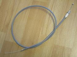 kaasuvaijeri harmaa - Zyndapp M50, 434 ( Bing 17mm kaasutin ) korkea ohjaustanko