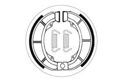 jarrukengät - Suzuki LT160 ´89-92, Derbi