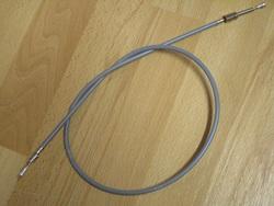 kytkinvaijeri - Cresent ( 2-vaihteinen, koteloitu ohjaustanko ) - harmaa