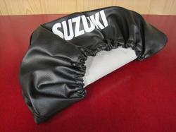 istuimen päällinen - Suzuki PV50 - musta