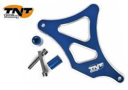 eturattaan suoja - Minarelli AM6 - alumiini - sininen