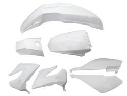 muovisarja - valkoinen - Derbi Senda ( Step II )