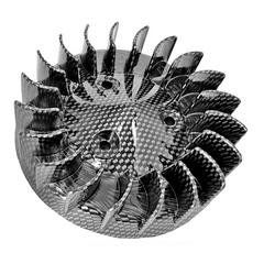 puhallin - Minarelli skootterin moottorit ( carbon kuvio )