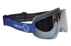 TIMELESS Shield Crossilasit, sininen peililinssi