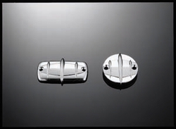 """kytkin- ja jarrunestesäiliön kansi, Suzuki custom """"tech glide"""""""