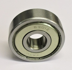 laakeri 6301 ZZ (12 x 37 x 12mm, pelti suojilla )