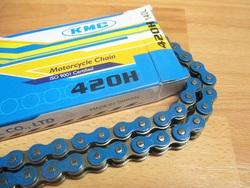ketjut 420 KMC, 140 lenkkiä - vahvistettu sininen