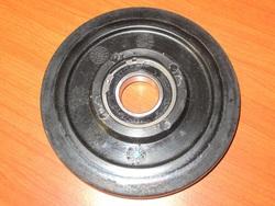 telapyörä - Yamaha ( 130mm / 25mm ) musta