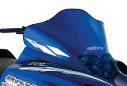 "tuulisuoja ""Cobra"" Yamaha ( SRX-series ) Blue/white stripes"