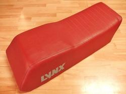 istuimen verhoilu - Lynx GLS 3500 - punainen