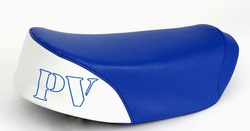 istuimen päällinen Suzuki PV50 - sini/valkoinen
