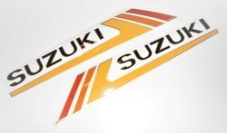 tankintarrat -  Suzuki PV50 ´1985-86 ( musta tankki )