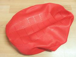 istuimen päällinen Suzuki PV50 - vanha malli ( tekstillä ) punainen