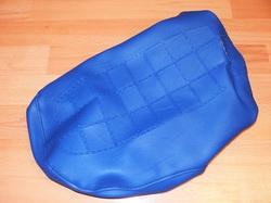 istuimen päällinen Suzuki PV50 - vanha malli ( tekstillä ) sininen