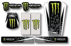Factory Effex - Universal Monster Energy Trim Kit