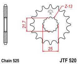 ketjuratas etu ( JT 520 ) 14z