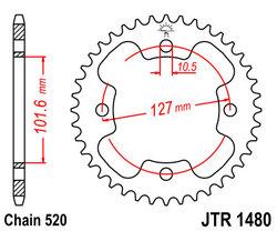 ketjuratas taka ( JTR 1480 ) 38z