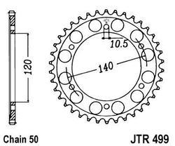 ketjuratas taka ( JTR 499 ) 40z