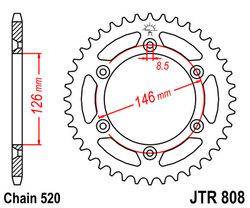 ketjuratas taka ( JTR 808 ) 44z