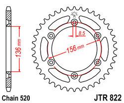 ketjuratas taka ( JTR822 ) 48z