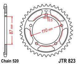 ketjuratas taka ( JTR 823 ) 46z