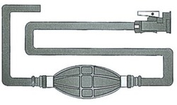 polttoaineletku + liitin - Yamaha / Mercury '88-98 ( Osculati )