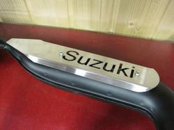 """pakoputken suoja  """"Tuning"""" - Suzuki PV50"""