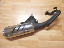 pakoputki - Kiina skootterit ( QM50T-10A )