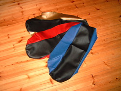 istuimen päällinen, Derbi Senda 00-> musta / punainen