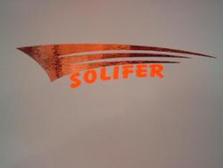 tarra sivuposkeen PV50, kromi/oranssi