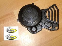 magneeton koppa - Derbi Senda - carbon look ( Dice )