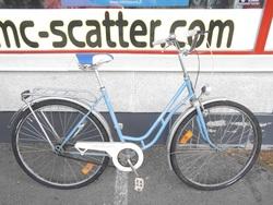 """Terässiipi Titania 28"""" polkupyörä - sininen ( 3-vaihteinen )"""