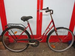 """Xtreme Hilma 28"""" polkupyörä - punainen ( 1-vaihteinen )"""