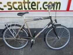 """Tunturi Parkcafe 28"""" polkupyörä - violetti ( 7-vaihteinen )"""