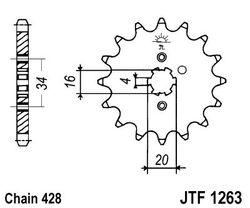 ketjuratas etu ( JT 1263 ) 13z