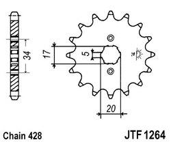 ketjuratas etu ( JT 1264 ) 16z