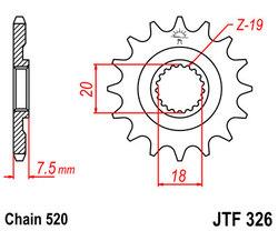 ketjuratas etu ( JT 326 ) 14z