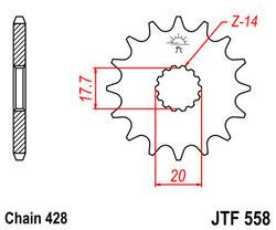 ketjuratas etu ( JT 558 ) 13z