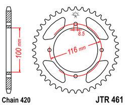 ketjuratas taka ( JTR 461 ) 49z